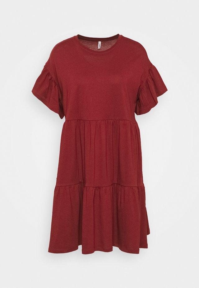 ONLMAY NEW LIFE CUTLINE DRESS - Vestido ligero - pomegranate
