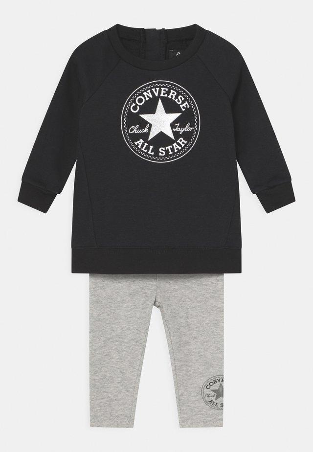 CREW SET - Sweatshirt - lunar rock heather