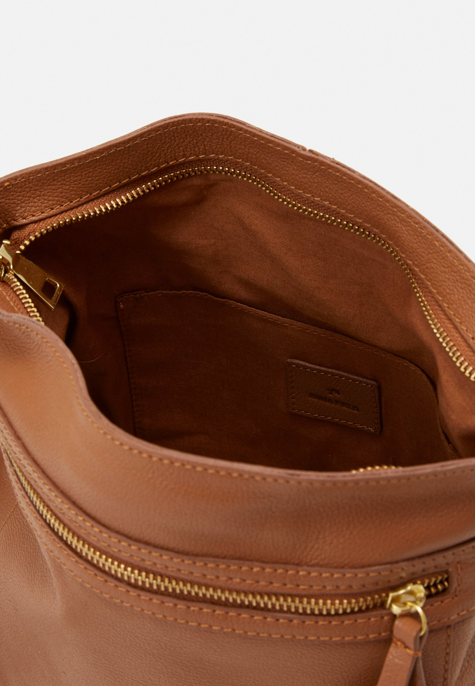 Largest Supplier Bulk Designs Accessories Anna Field LEATHER Across body bag cognac LcDydo8QL N4YCtuIDe