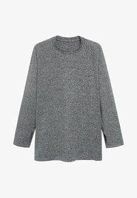 Mango - MUNICH - Long sleeved top - mittelgrau meliert - 6