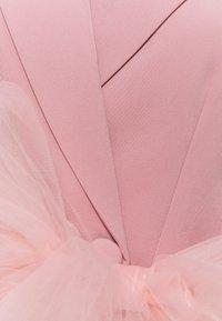 Missguided Tall - TALL MESH BOW WAIST BLAZER DRESS - Skjortekjole - blush - 2