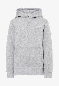dk grey heather/white
