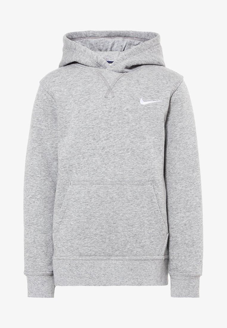 Nike Performance - Luvtröja - dk grey heather/white