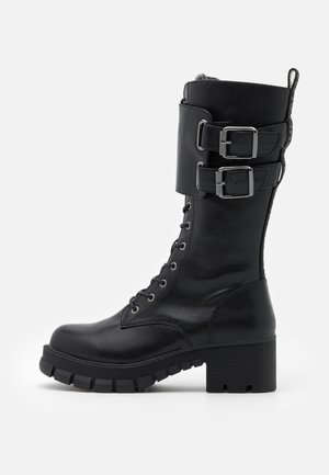 MAJOR - Lace-up boots - black