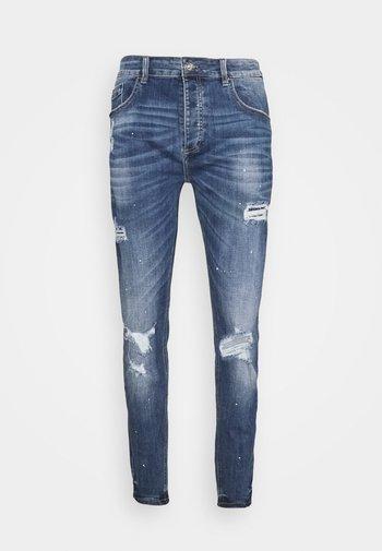 INWOOD - Slim fit jeans - midwash