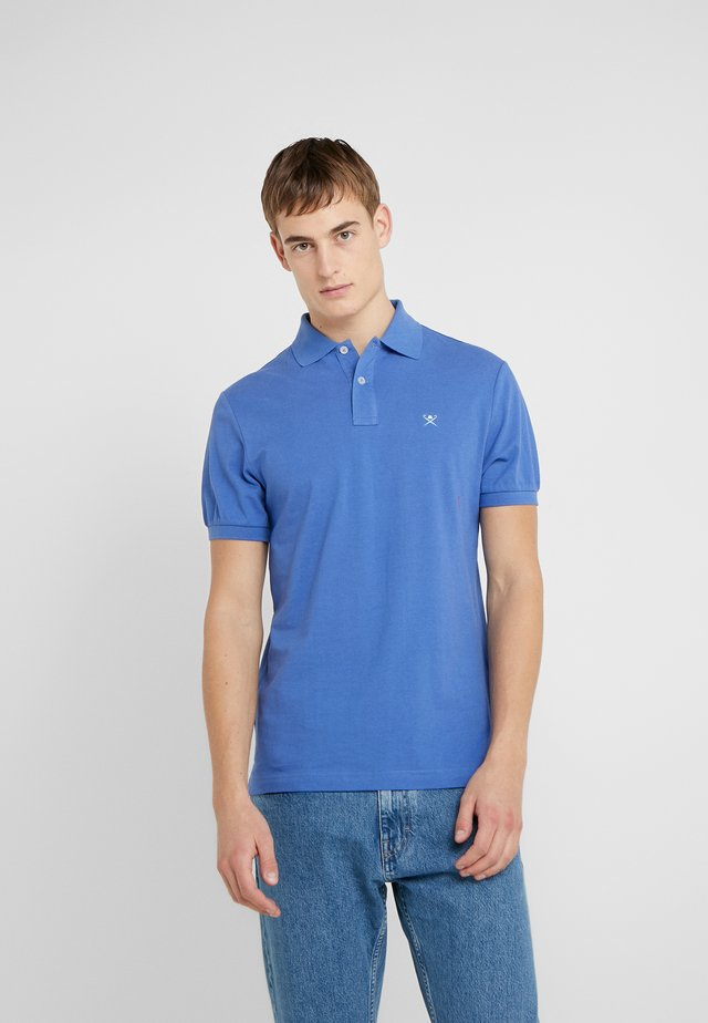 SLIM FIT LOGO - Polo - royal blue