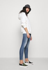 Abrand Jeans - HIGH ANKLE BASHER - Jeans Skinny Fit - stone blue denim - 1