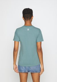 adidas Originals - T-shirt imprimé - hazy emerald - 2