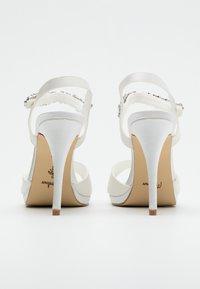 Menbur - Sandaler med høye hæler - ivory - 3