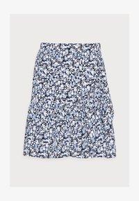 SKIRT HILDA - Mini skirt - light dusty blue