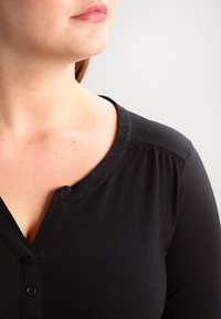 Zizzi - Long sleeved top - black - 3