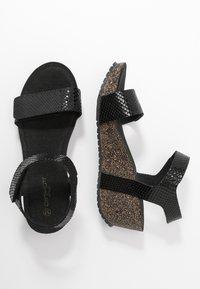 Ca'Shott - Sandály na platformě - thelma black - 3