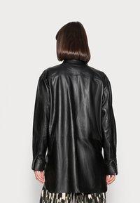 DAY Birger et Mikkelsen - DAY SKIN - Leather jacket - jet black - 2