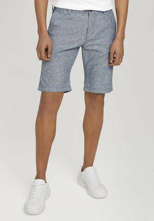 Shorts - navy white stripe