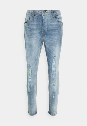 JUSTIN - Jeansy Skinny Fit - blue wash
