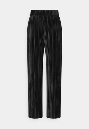 LOOSE PANT - Trousers - black