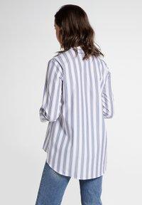 Eterna - Button-down blouse - navy/white - 1