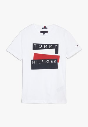 STICKER TEE  - Print T-shirt - white