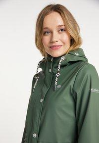 Schmuddelwedda - Waterproof jacket - oliv - 3