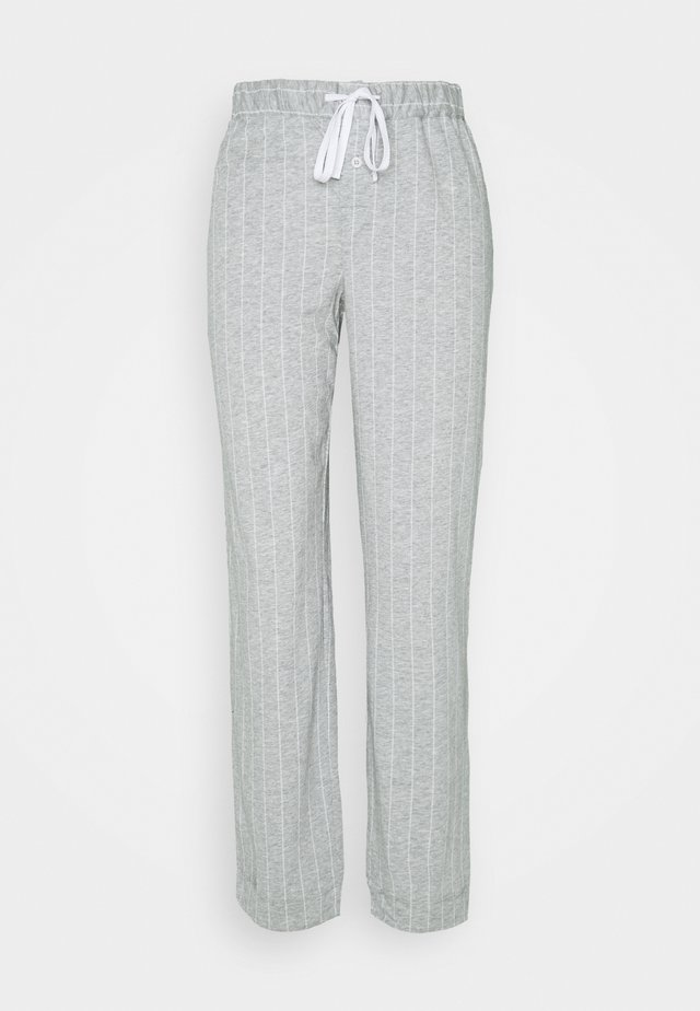 SEPARATE LONG PANTS - Spodnie od piżamy - grey
