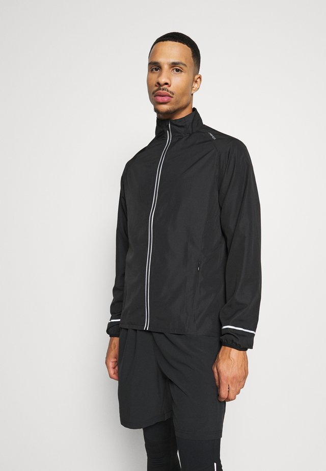 LESSEND JACKET - Veste de running - black