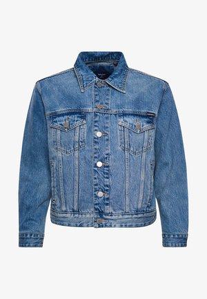 BOYFRIEND TRUCKER - Denim jacket - sullivan indigo aged