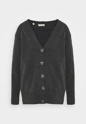 SLFSTACEY KNIT  - Cardigan - dark grey melange