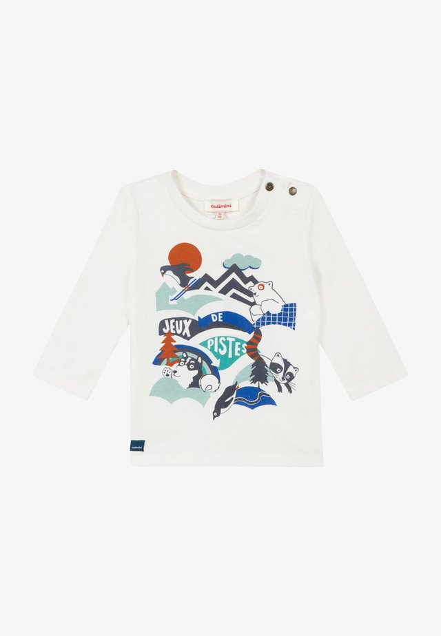 T-SHIRT À MANCHES LONGUES - Långärmad tröja - broken white