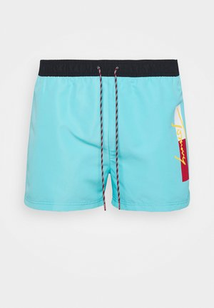 SHORT DRAWSTRING - Swimming shorts - blue