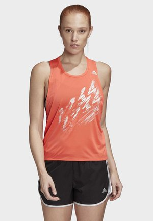 SPEED TANK TOP - Top - orange