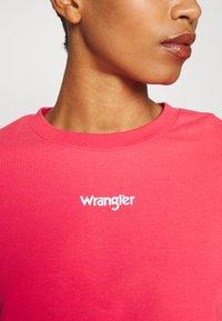 Wrangler - SUMMER WEIGHT - Sweatshirt - paradise pink - 6