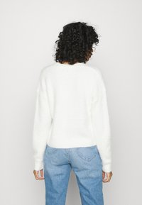 New Look - FLUFFY CARDI - Kardigan - off white - 2