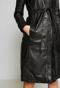 Oakwood - INDIANA - Shirt dress - black - 5