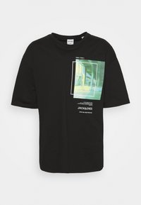 TEE CREW NECK - Print T-shirt - black