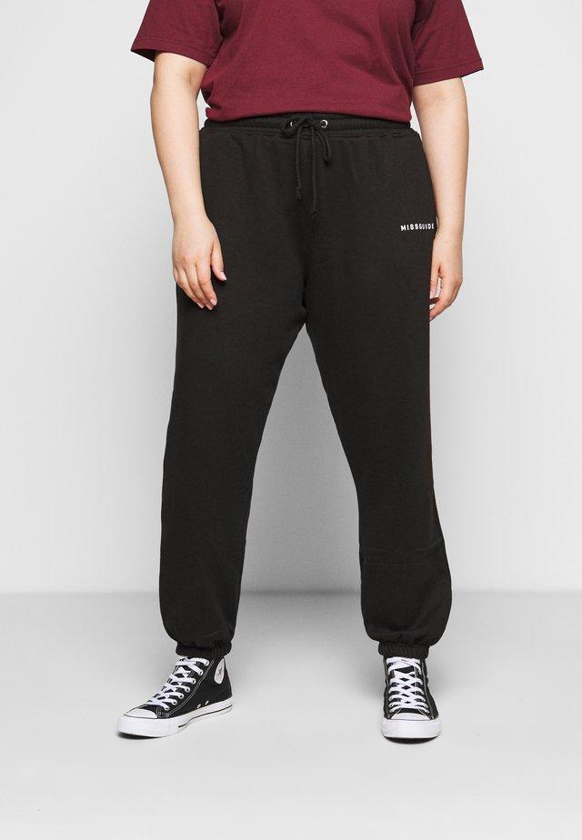 OVERSIZED 90S - Pantalones deportivos - black