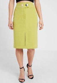 4th & Reckless Petite - RILEY SKIRT - Pouzdrová sukně - lime - 2