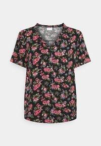 Vila - VICARE - Button-down blouse - black - 4