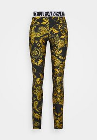 Versace Jeans Couture - Leggings - Trousers - black - 4