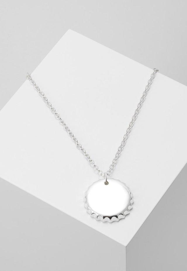 BOTTLE PENDANT NECKLACE - Kaulakoru - silver-coloured