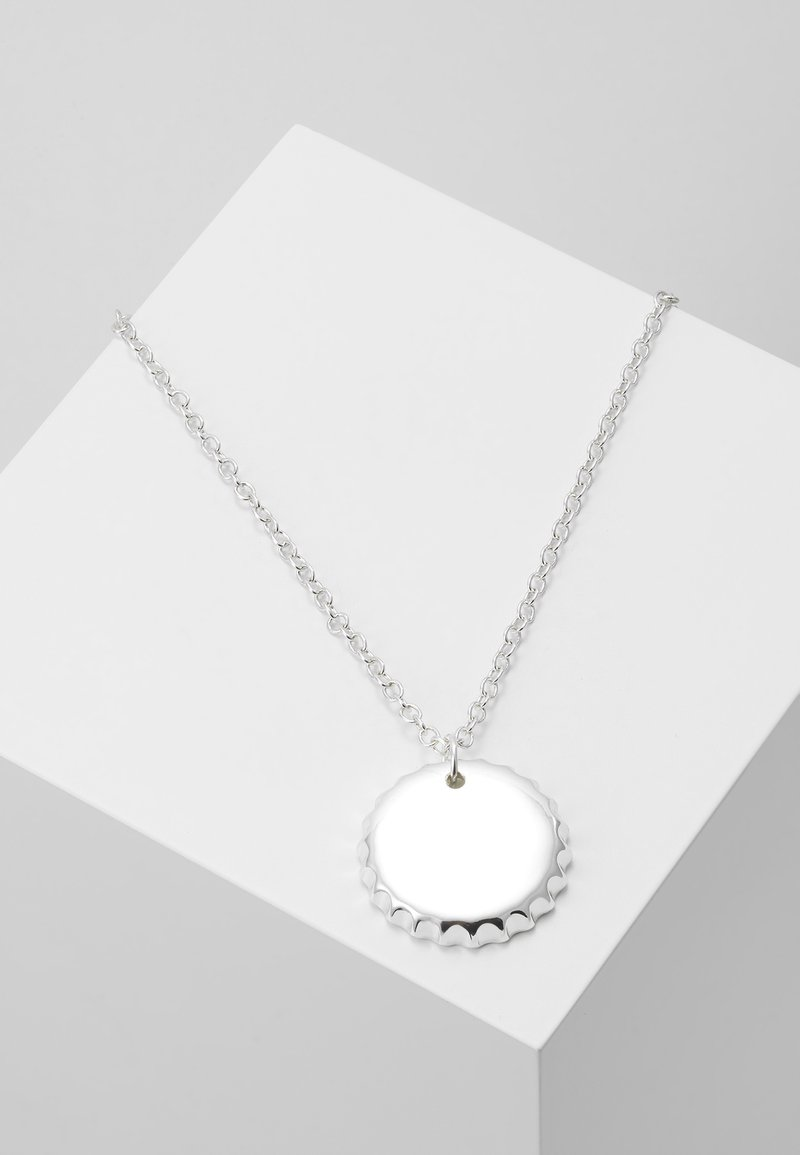 Wild For The Weekend - BOTTLE PENDANT NECKLACE - Necklace - silver-coloured