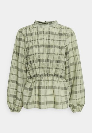 BECCA BLOUSE - Bluser - oil green