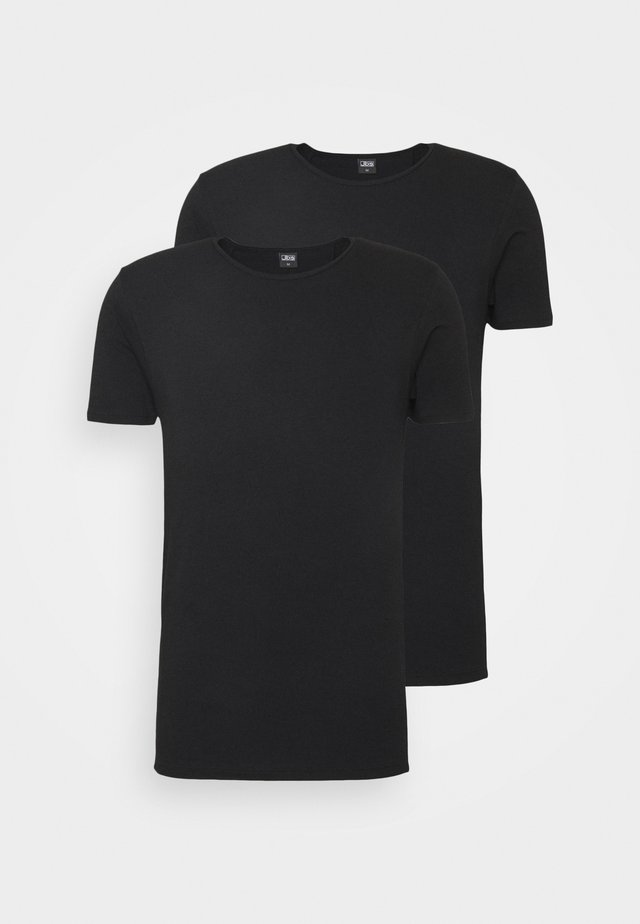 2 PACK - Maglietta intima - schwarz