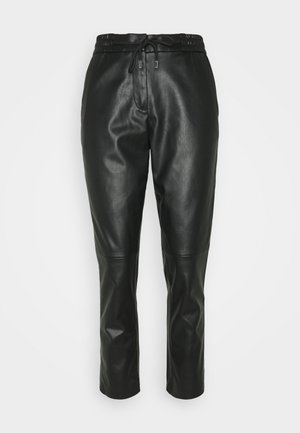 LOOSE FIT PANT - Trousers - deep black