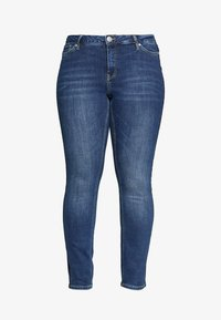 JUNAROSE - by VERO MODA - JRFIVE DELINA - Jeans Skinny Fit - medium blue denim - 3