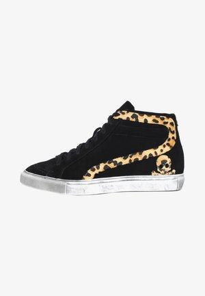 ANIMAL STUDS - Sneakers hoog - black