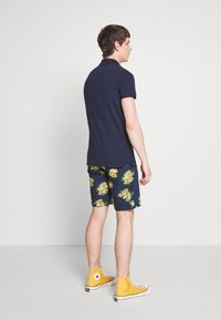Bellfield - PULL ON FLORAL PRINT - Shorts - navy - 2
