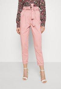 Miss Selfridge - TROUSER - Trousers - pink - 0