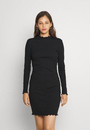 VIJULLA HIGH NECK DRESS - Hverdagskjoler - black