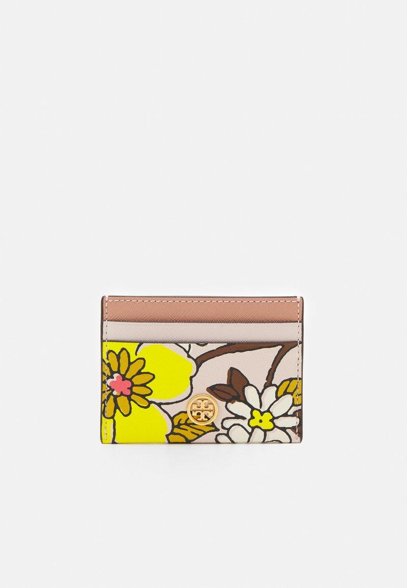 Tory Burch - ROBINSON PRINTED CARD CASE - Wallet - ballerina pink