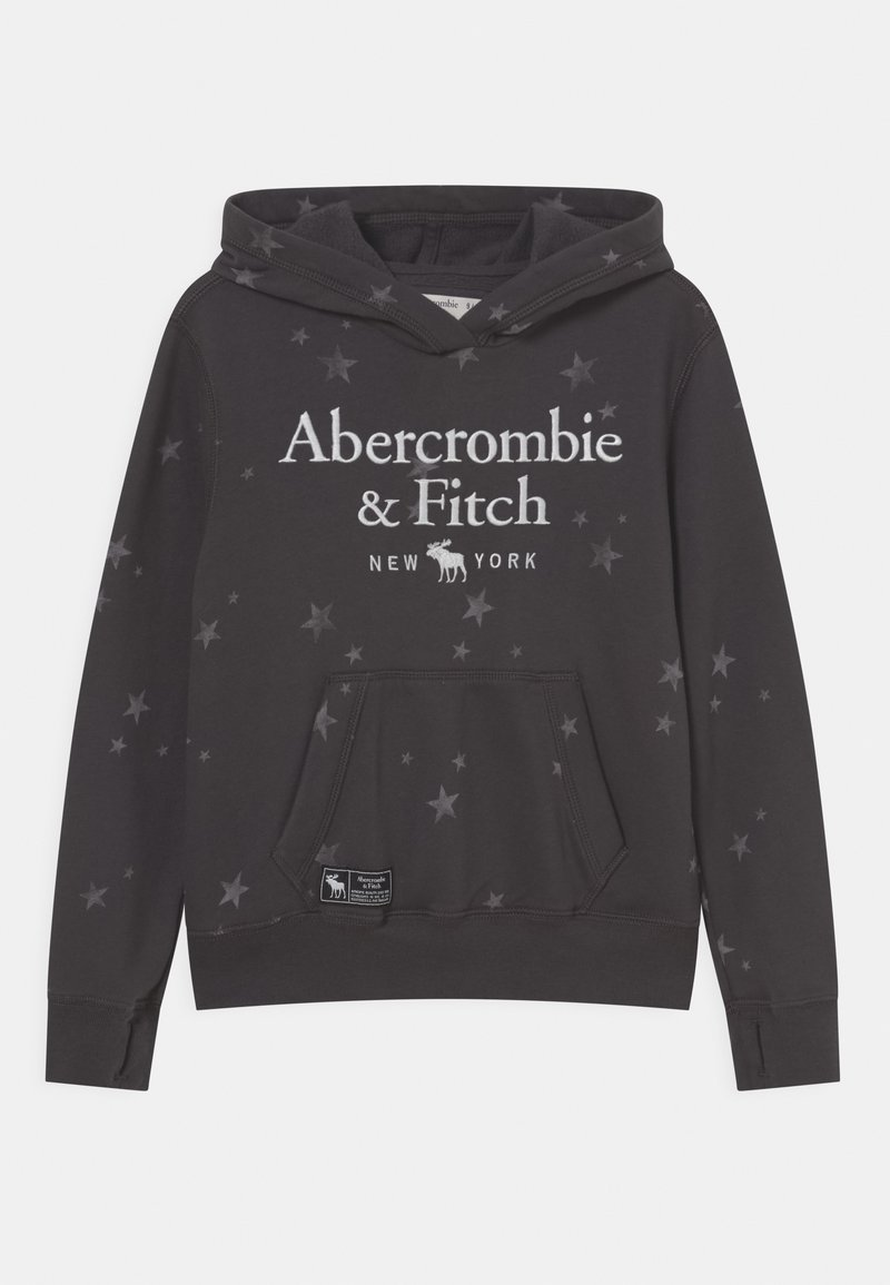 Abercrombie & Fitch - LOGO HOODIE - Sudadera - grey